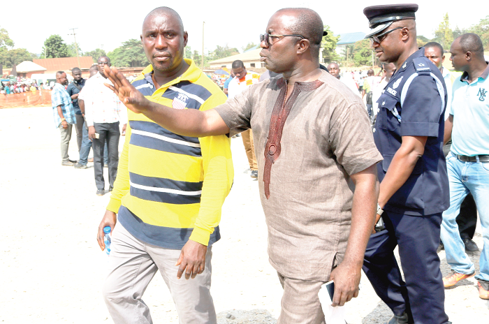 Relocation of hawkers, lorry stations from Kejetia underway