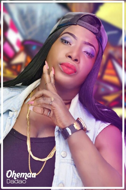 """I am the god of female rappers in Ghana"" – Ohema Dadao"