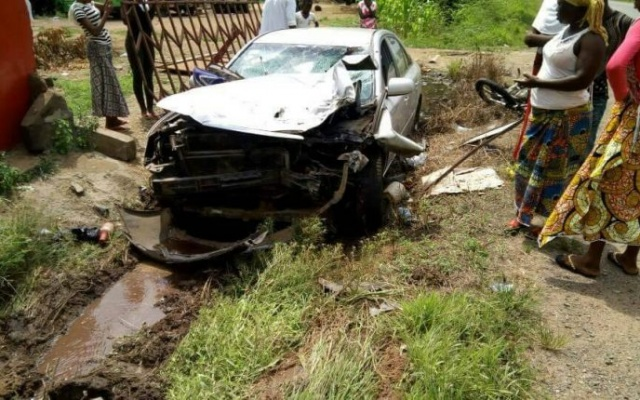 Two dead In Kpong accident