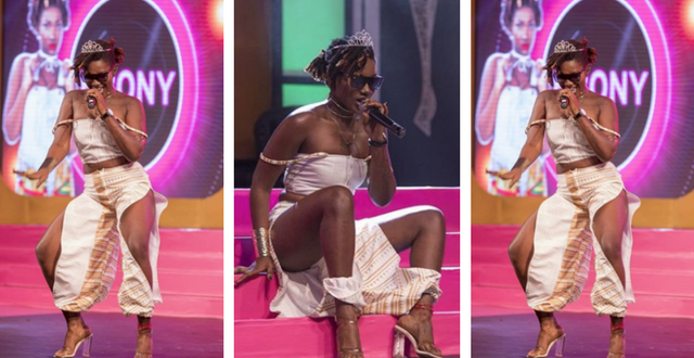 Ebony Reigns Thrills Fans With Her Hit Songs At The 2017 Miss Malaika Ghana Grand Finale