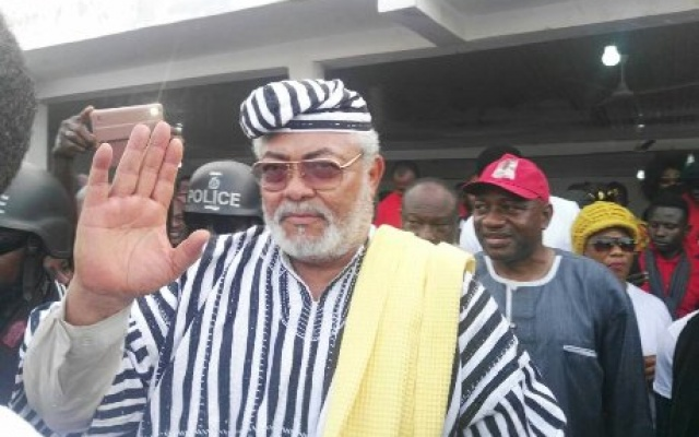 Akufo-Addo inherited 'corruption at its worst' – Rawlings