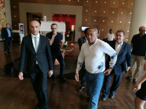 CAF president arrives in Accra for unveiling of Footballer of the Year nominees