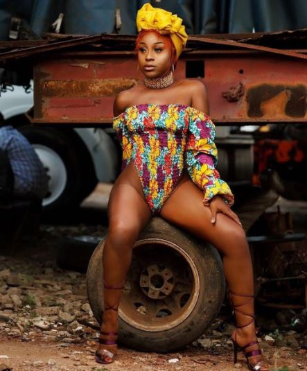 6 times actress Efia Odo put her banging body on display this year