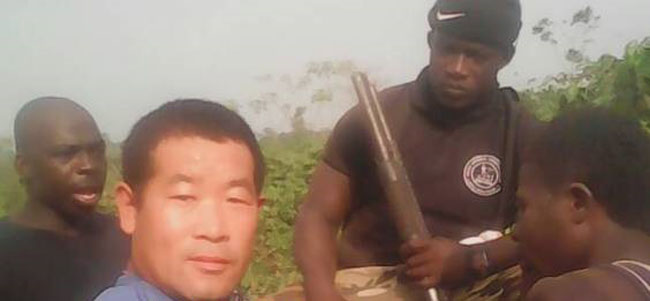 31 Illegal Miners, Including Chinese Nationals Arrested