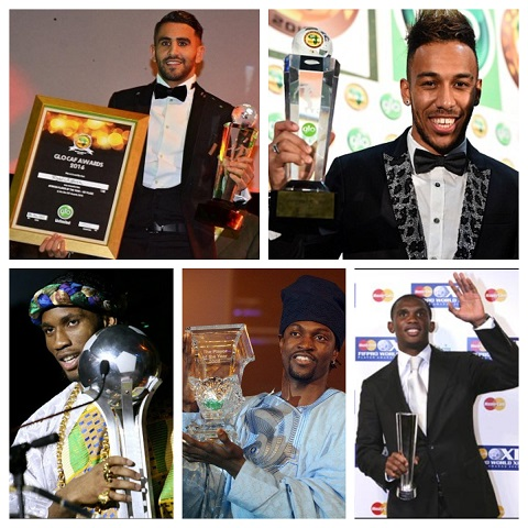 Past winners of CAF's African Footballer of the Year Award