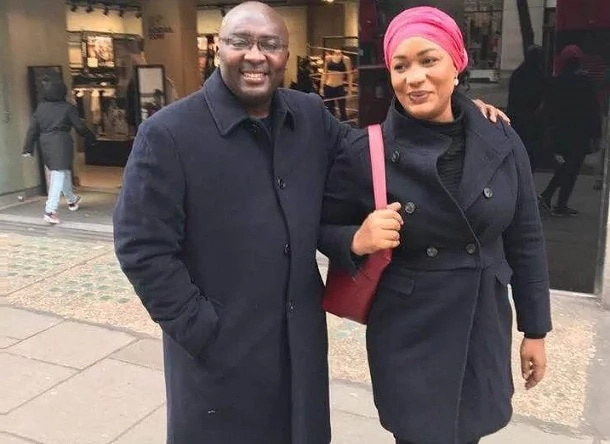 Bawumia and wife on the streets of London