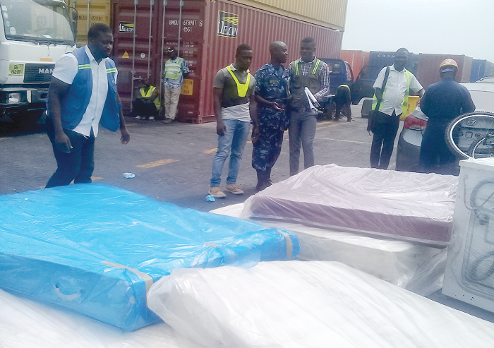 Massive smuggling at Jubilee Terminal as Customs officials aid process