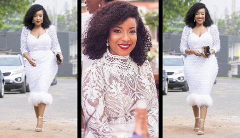 Photos: Joselyn Dumas breaks the internet as she serves as 'wedding guest'