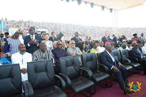Akufo-Addo's punctuality exposes other African leaders at Weah's investiture