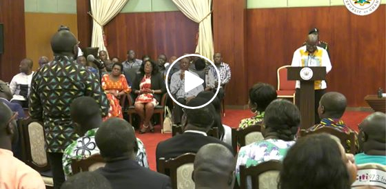 Watch: President Nana Addo Dankwa Akufo-Addo encounter with the Media.