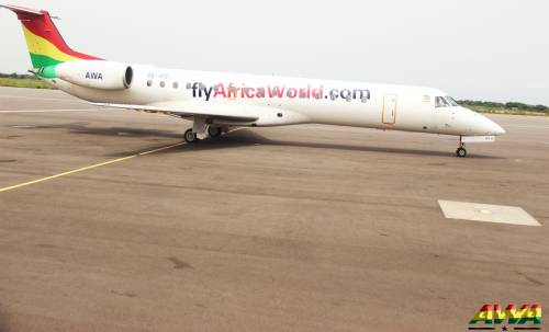 Ghanaian pilot unleashes hot gas on Nigerian thieves in aircraft robbery attempt