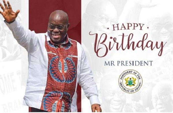First Lady, D-Black, Ghanaians wish Akufo-Addo happy birthday