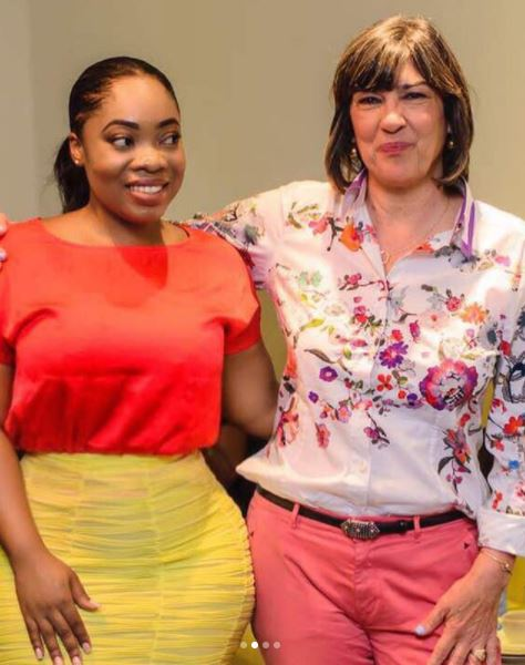 This is what Christiane Amanpour had to say about Ghanaian bashing Moesha