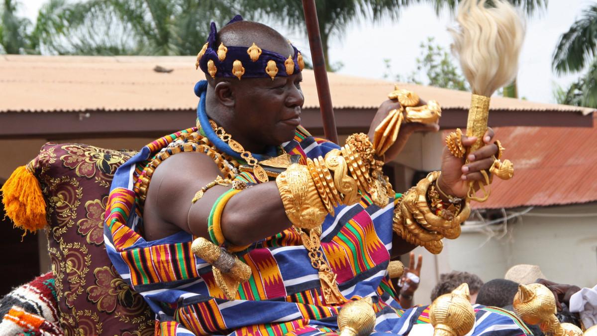 19 years of Asantehene's reign on the Golden Stool