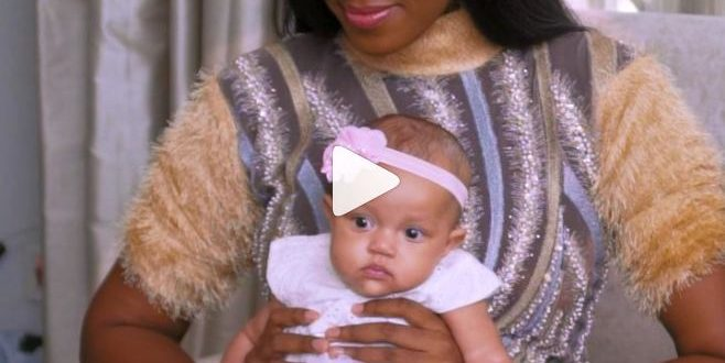 Photos: Yvonne Nelson unveils daughter in new magazine cover