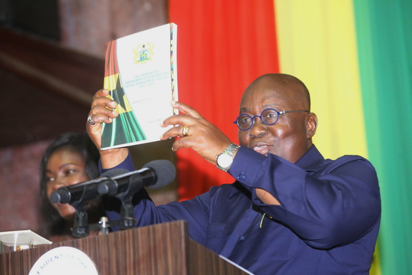 Akufo-Addo launches 7-year devt plan