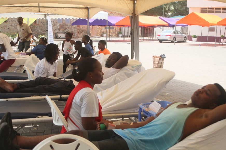 Donewell Insurance, Happy FM Stock National Blood Bank