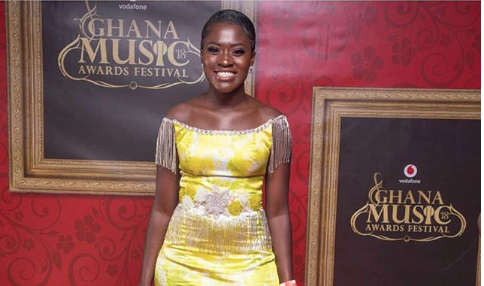 #VGMA2018: Fella Makafui's Ghc1,000 Dress To The 2018 VGMA