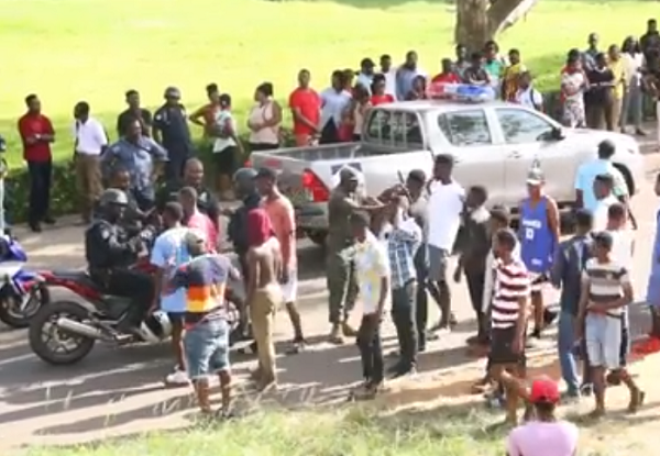 Video: One injured, 10 arrested as Vandals clash with Katanga
