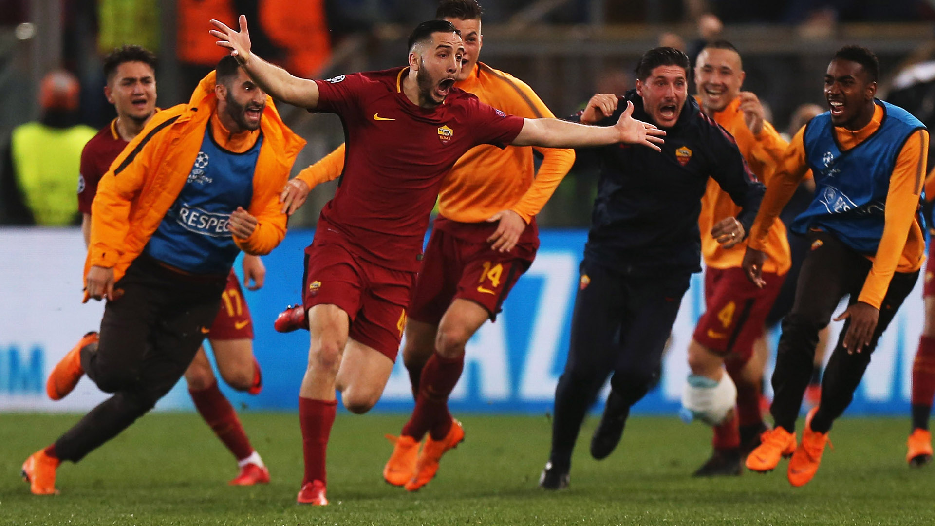 VIDEO: Roma stun Barca 3-0 to progress in UCL