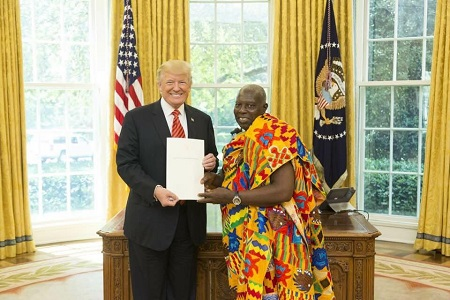 I can't sanction deportation of Ghanaians from US - Ghana Ambassador
