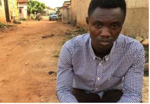 Martin Kyere; the Ghanaian shoe seller who has vowed to bring Jammeh to justice