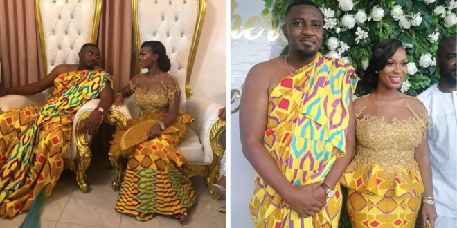 John Dumelo & His Wife After Their Traditional Wedding In Photos