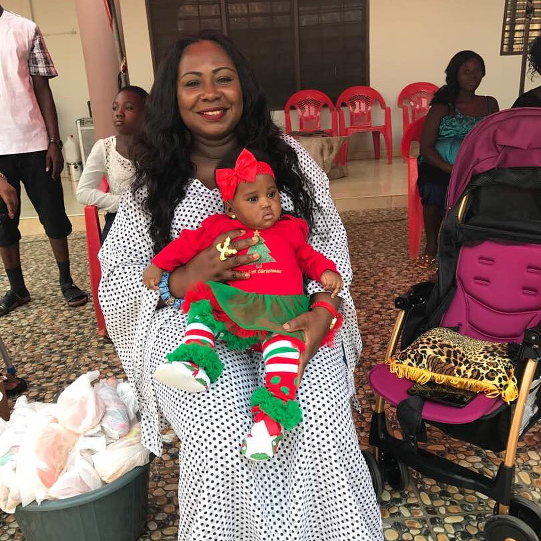 I never thought I would ever get pregnant; gave up on it - Gifty Anti
