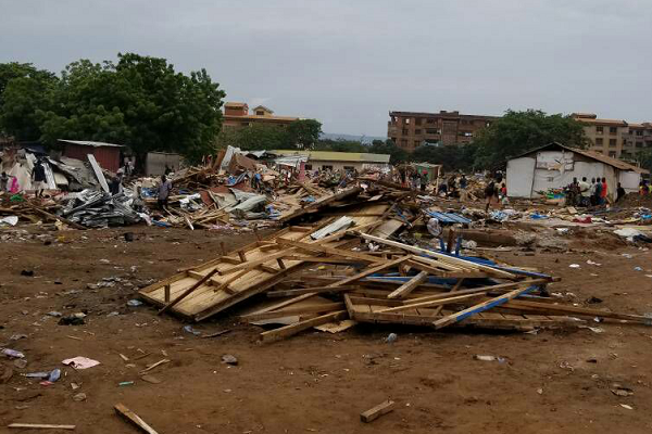 Over 1,000 illegal structures destroyed near Medina Redco Flats