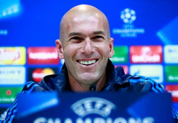 Missing Champions League final would be a failure - Zidane