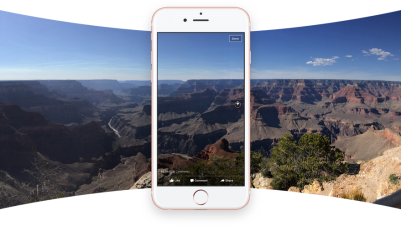 Facebook Rolls Out 360 Photos In Newsfeed