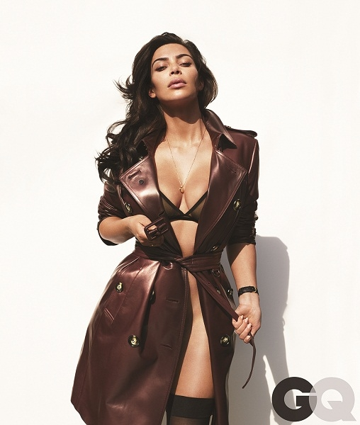 Kim Kardashian Poses Naked For NSFW 'GQ' Cover
