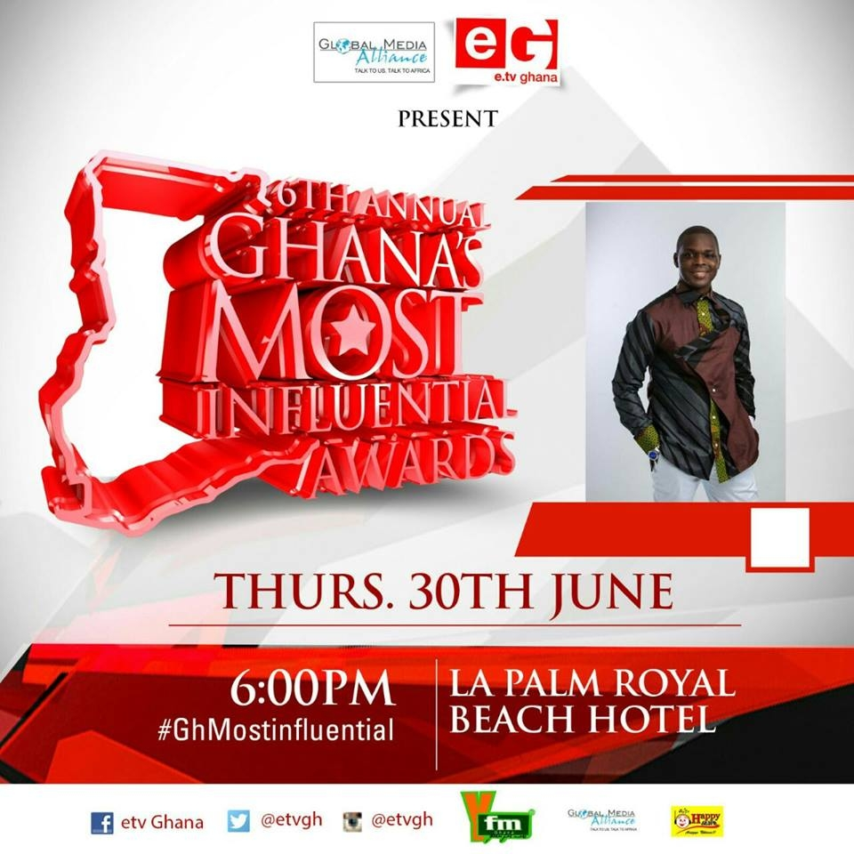 Multimedia Trio, Others to be Awarded at Ghana's Most Influential event
