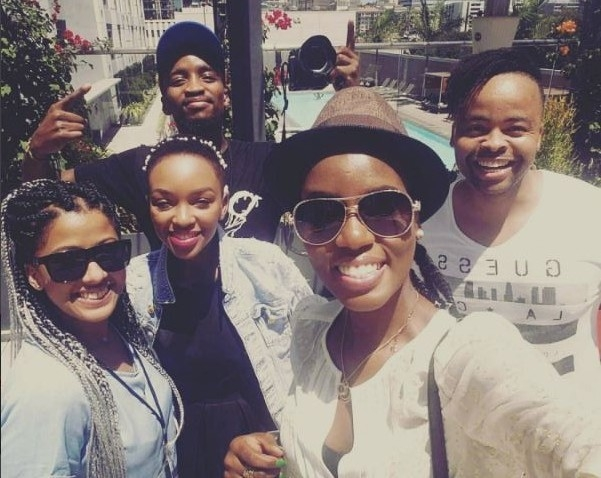 #BETonYFM: MzVee Arrives In Los Angeles Ahead Of BET 2016