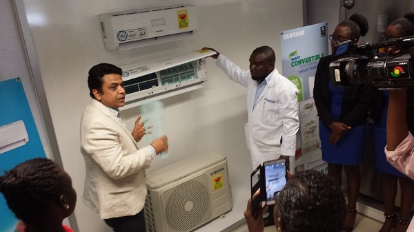 Enhancing modern living: Samsung brings twin-cooling fridges, new air-conditioners in Ghana