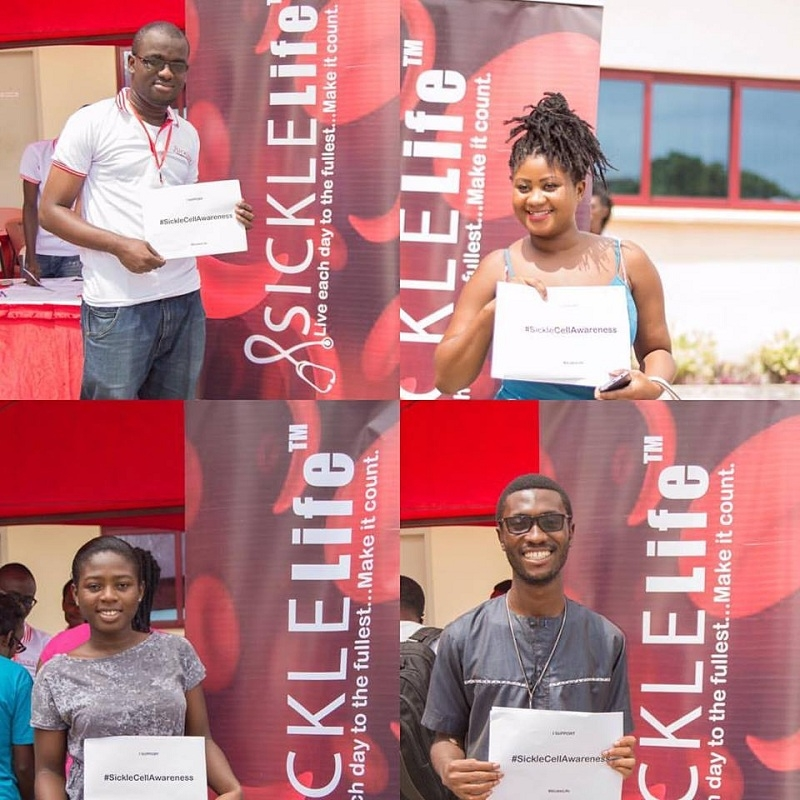 Vodafone Ghana Foundation, Sickle Life conduct free sickle cell test