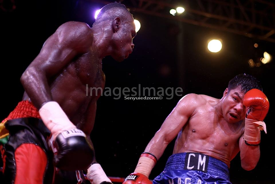 "Emmanuel ""Game Boy"" Tagoe stops Magali in round 9"