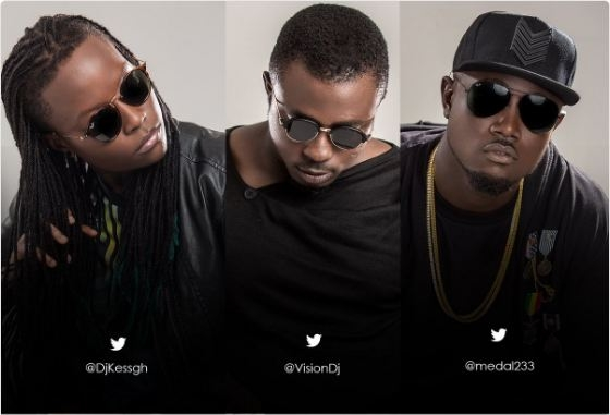Meet Background Music Group's DJ Kess, Vision DJ and M3dal