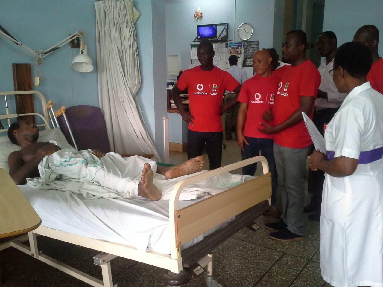 Vodafone rescues stranded patients