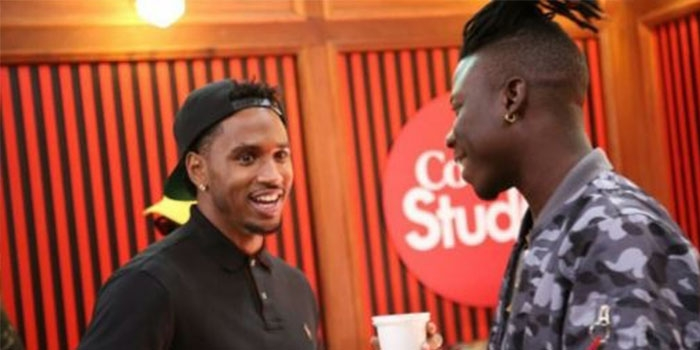 "Trey Songz crowns Stonebwoy as ""King from Ghana"""