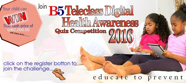 B5 Teleclass Digital Health Awareness Quiz Competition Begins September 12