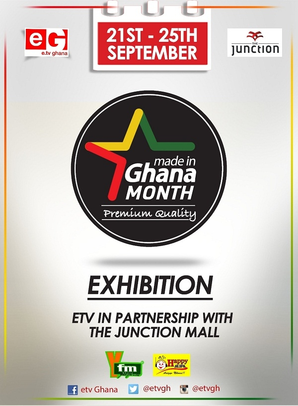 e.TV Ghana to Open Made in Ghana Exhibition at Junction Mall