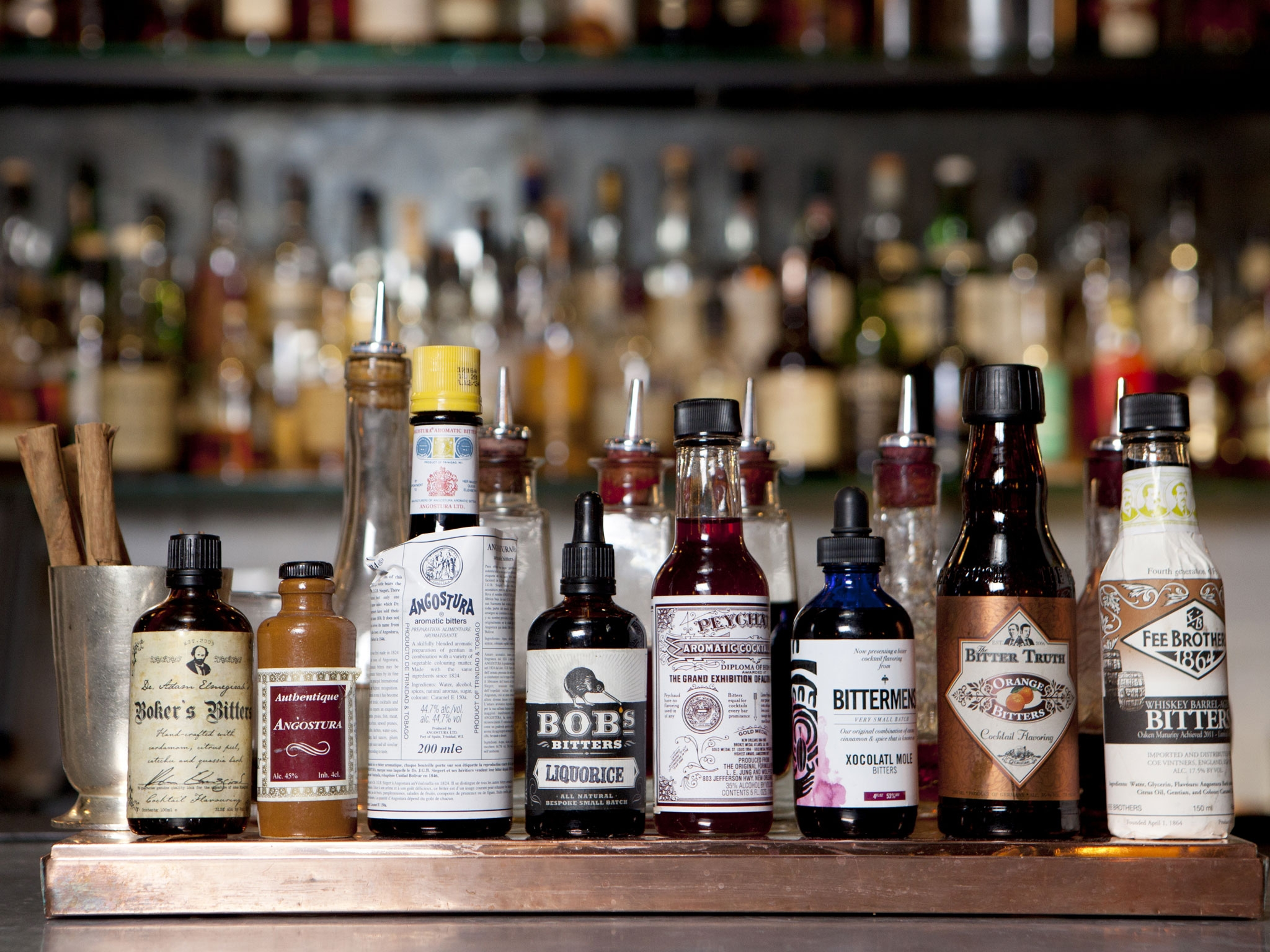 Many Bitters Products – A Risk To Consumers