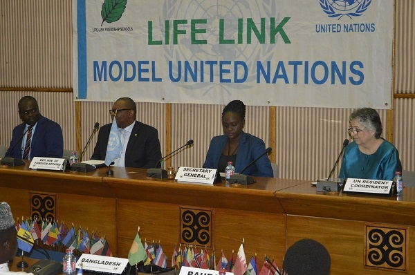 Life-Link Ghana hosts 17th Annual JHSMUN on UN