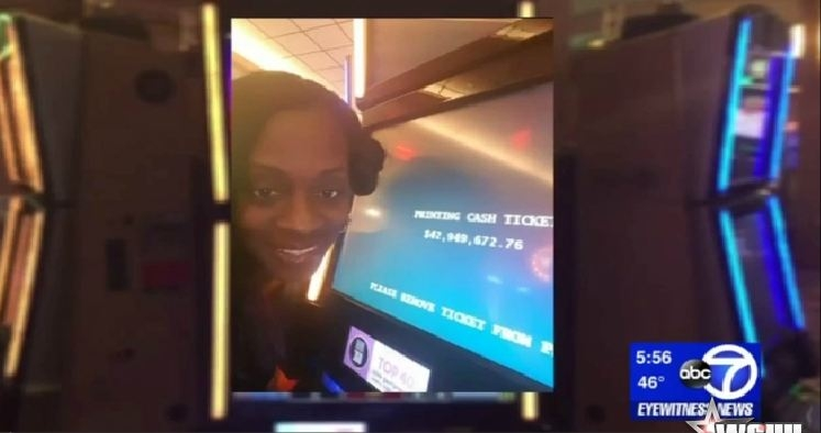 Woman wins $42.9 Million on slot machine, Casino claims it was a malfunction
