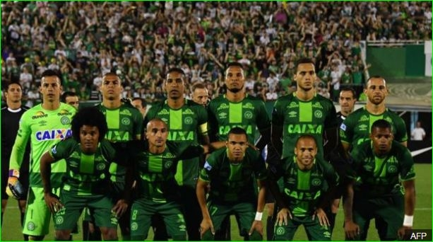 Brazil football team Chapecoense in Colombia plane crash