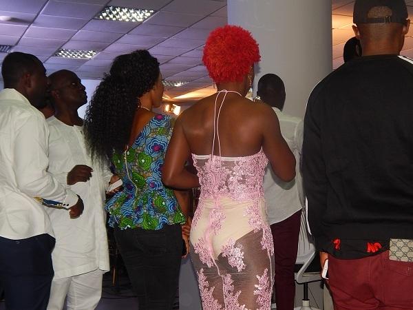 HIT or MISS: Miz Gold's See-Through-Dress at Ghana Fashion Awards