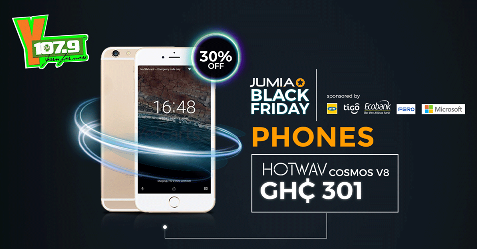 Jumia Black Friday brings you Ghana's biggest sale for 3 Days