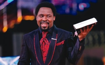 As Donald Trump Slides To Victory, Twitter Hunt for TB Joshua Over Hillary Win Prediction!