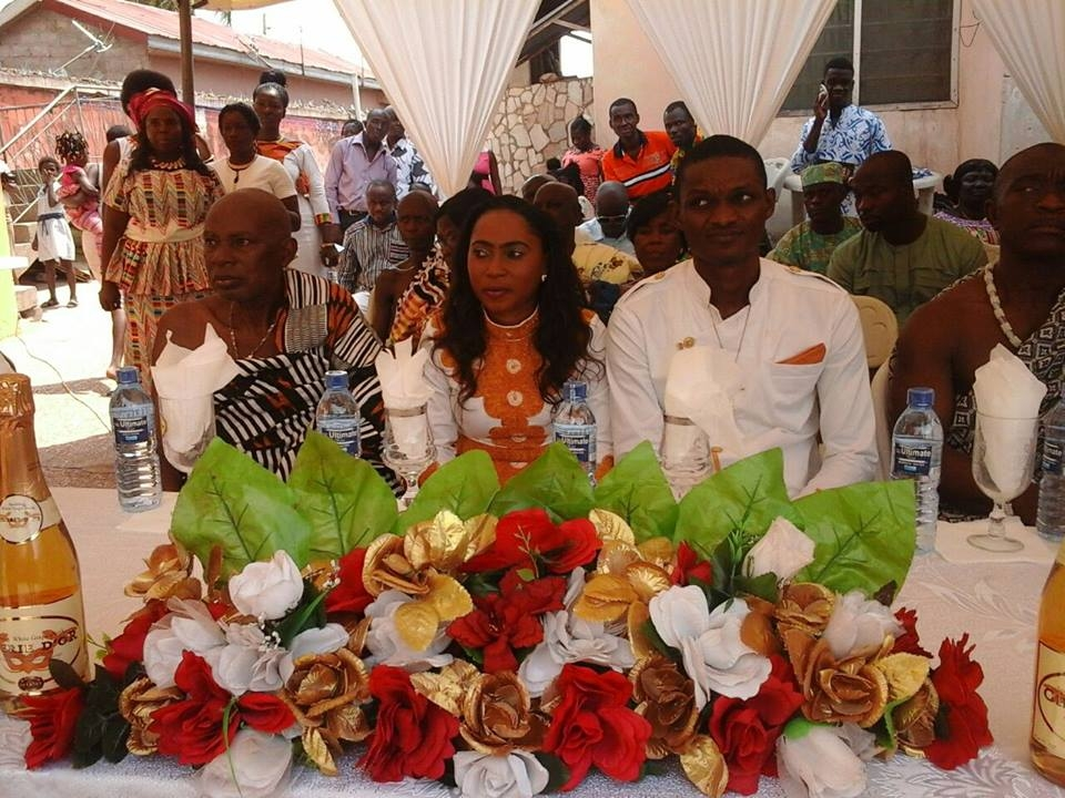 PHOTO: Happy FM's newscaster Nana Yaa Asamoah Marries